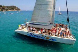 Catamaran excursie