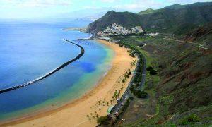 strand van Santa Cruz de Tenerife
