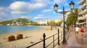 Santa Eulalia del Rio beach