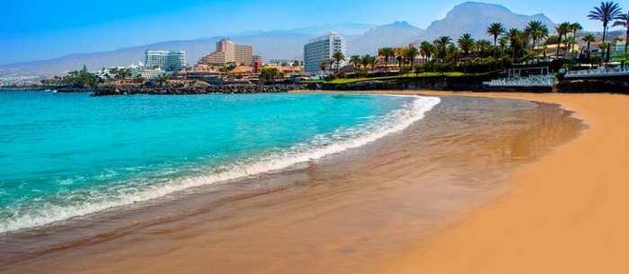 Strand van Playa de las Américas