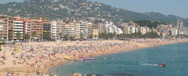 Strand van Malgrat de Mar
