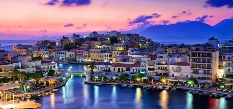 's nachts op Kreta