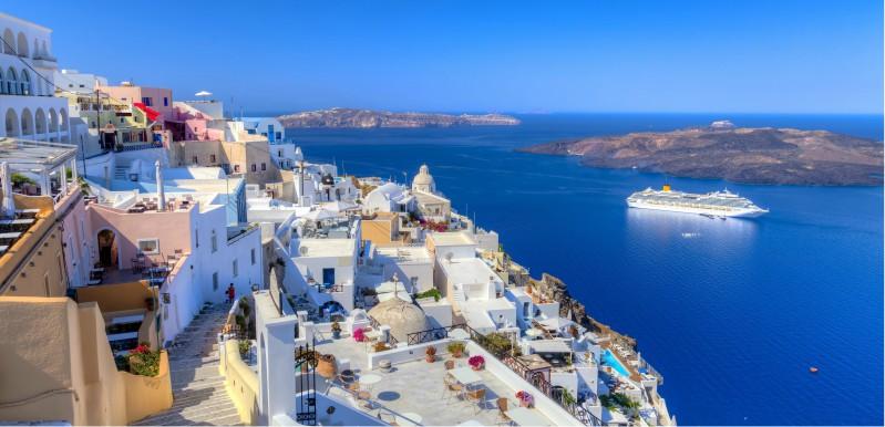 Stadsaanzicht Kreta