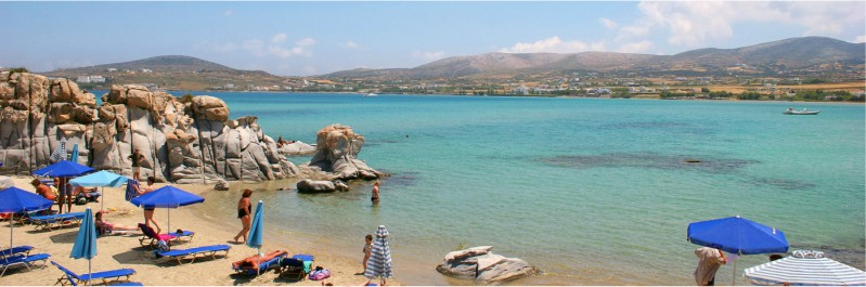 Stranden van Paros