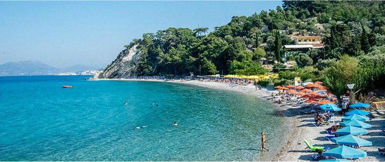 Stranden op Samos