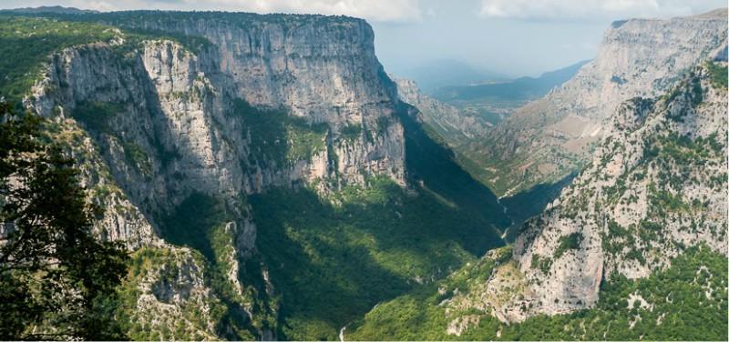 Epirus Vikos kloof