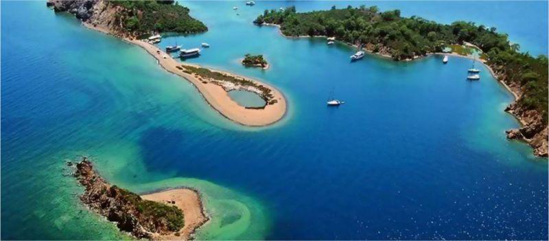 Stranden Fethiye