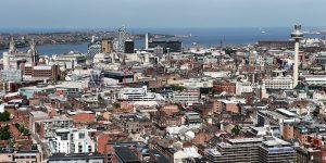 Uitzicht over Liverpool