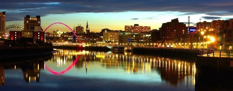 Een stedentrip naar Newcastle