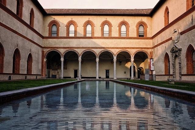 Castello Sforzesco - bezienswaardigheden