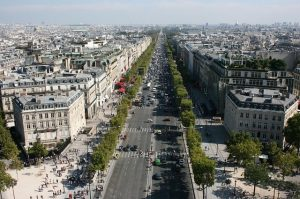 Champs Élysées Parijs