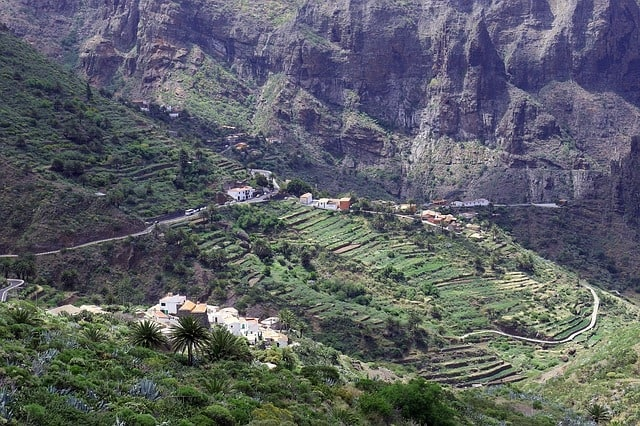 Het dorpje Masca