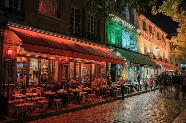 Gezelligheid in Montmartre