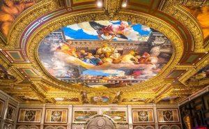 Plafondschildering van Michelangelo