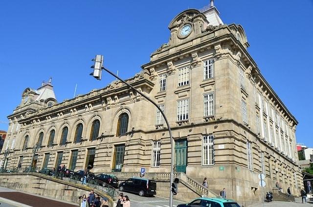 Station Sao Bento in Porto