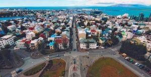 Bekijk Reykjavik in IJsland