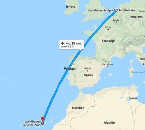 Waar ligt Tenerife op de kaart?