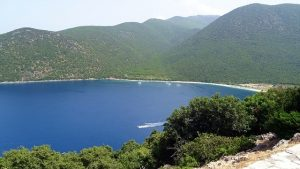 Antisamos strand op Kefalonia
