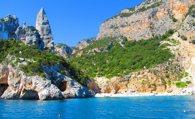 Cala Goloritze Sardinië Europa