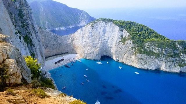 Een van de mooiste stranden Europa: Navagio beach