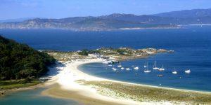 Playa de Rodas Cíes Eilanden
