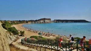 Gerakas strand op Zakynthos