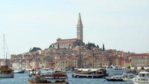 Rovinj in Istrië Kroatië