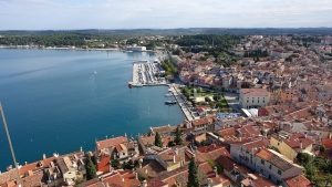Het stadje Rovinj Kroatië