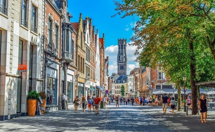 Brugge in België als mooie vakantiebestemming