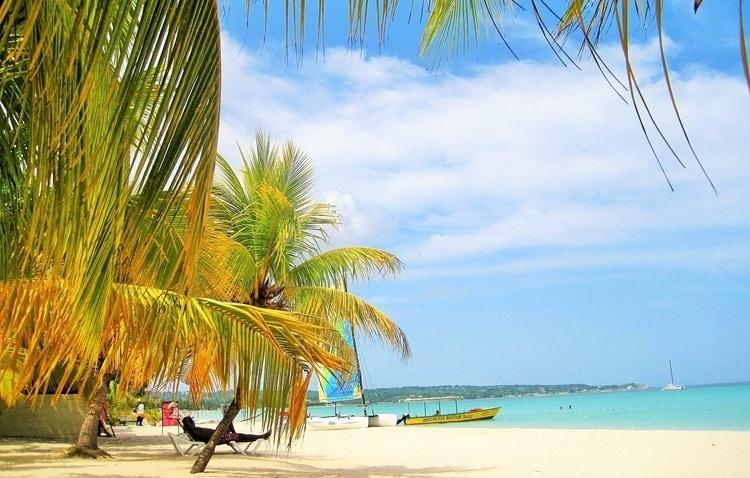 in december de zon opzoeken op Jamaica