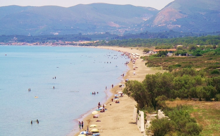 Kalamaki Beach in Laganas