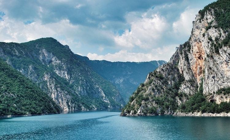 Prachtige natuur van Montenegro