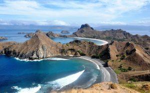Prachtige landschap van Indonesië