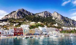 De bestemmingen Capri in Italië