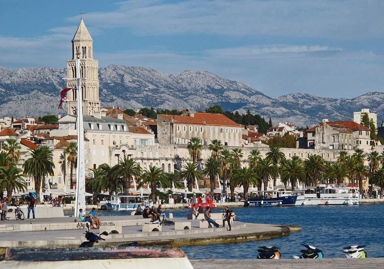 Diocletianus paleis in Split