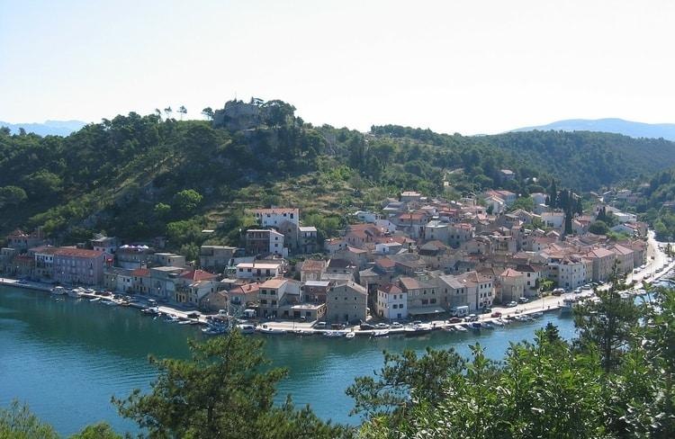 Dorpje in Istrië