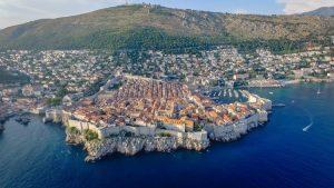 Dubrovnik aan de Adriatische Zee