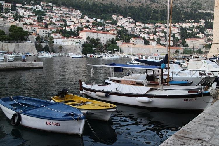 Haven van Dubrovnik