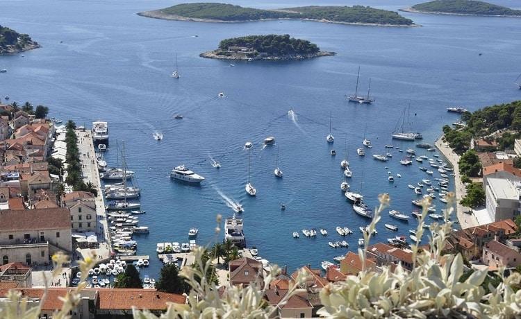 Hvar Split Kroatië