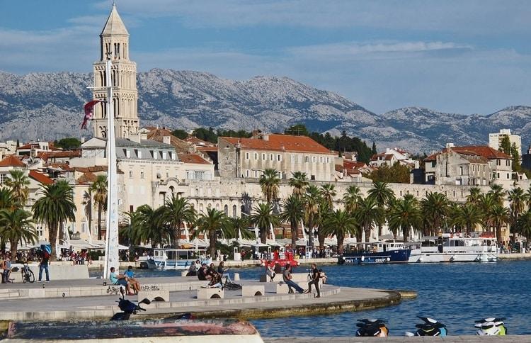Split in Dalmatië