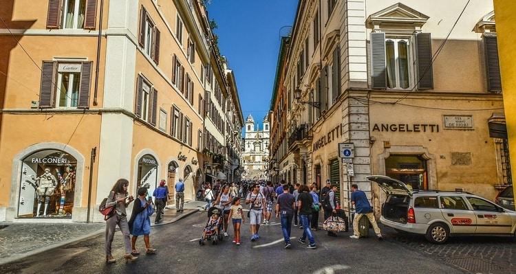 Winkelen in Rome