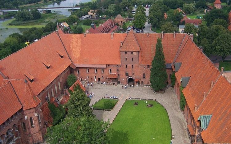 Binnenhof Malbork kasteel