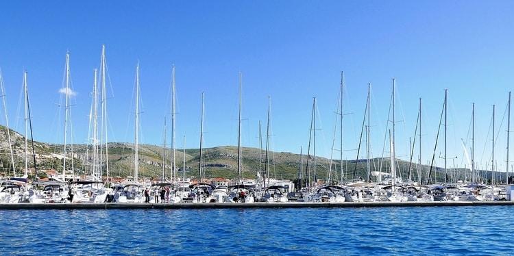 De haven van Trogir