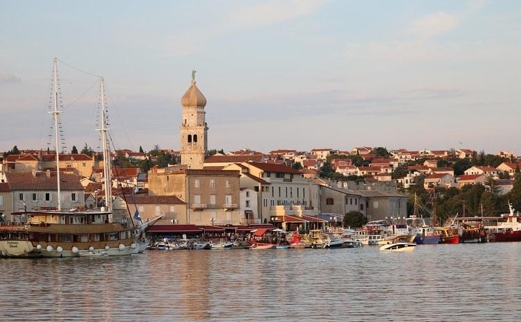 De stad Krk