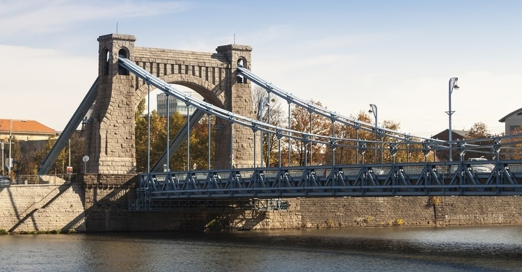 Grunwaldzki brug Wroclaw