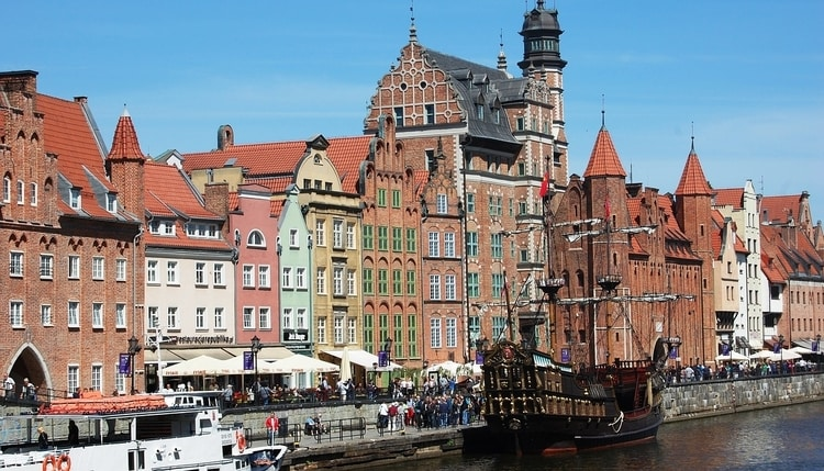 Haven hanzestad Gdansk