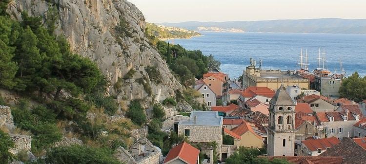 Omiš in Dalmatië