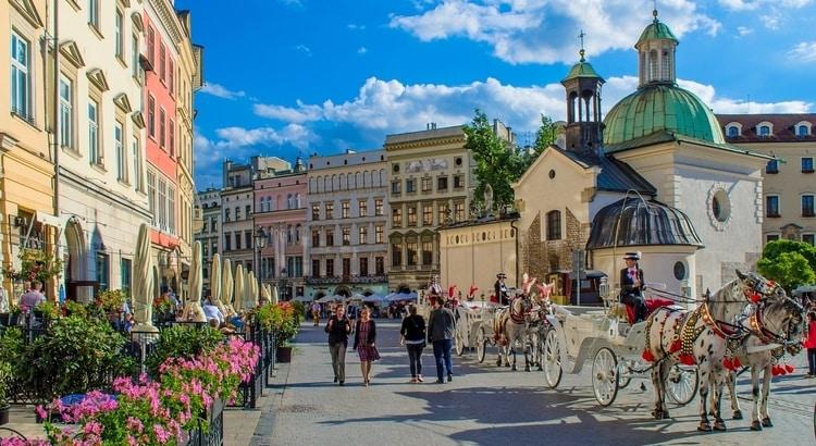 Historische centrum Krakau