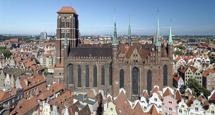 Mariakerk in Gdansk