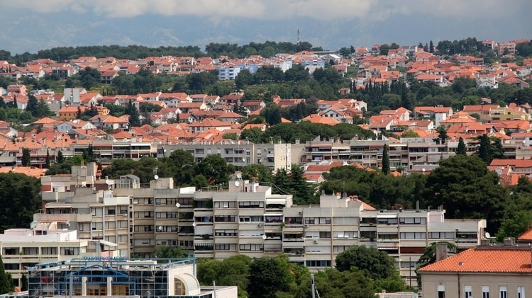 Nieuwere gedeelte Zadar